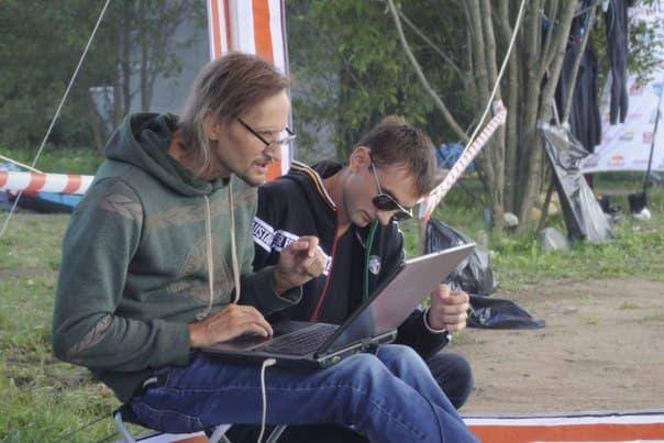 Судьи 3го этапа Кубка Беларуси в Новополоцке за работой