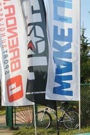 флаги спосоров финала Кубка Беларуси по вейкбордингу 2014