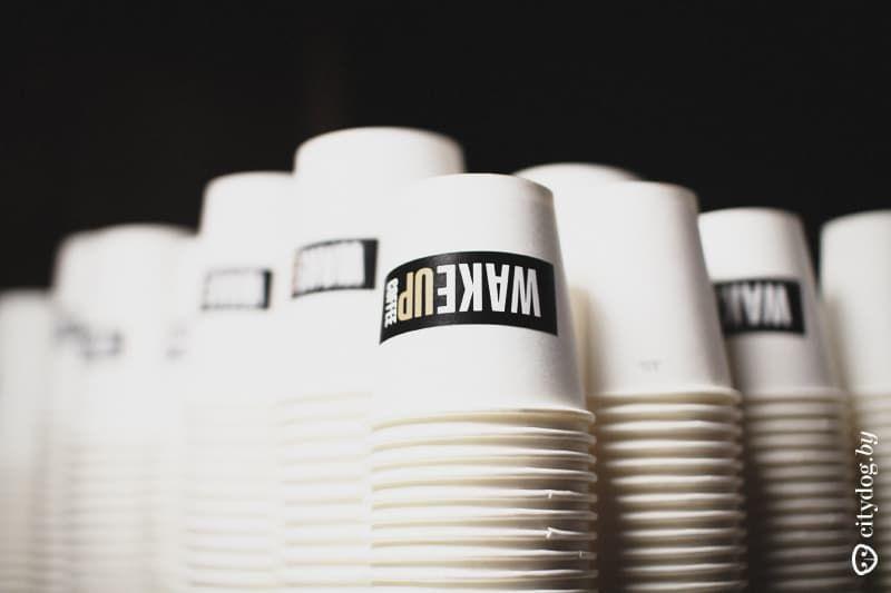 кофейня Wake Up в Минске
