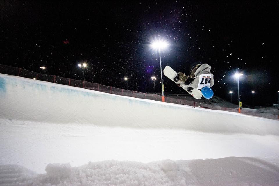 сноубордист Игнат Седанов