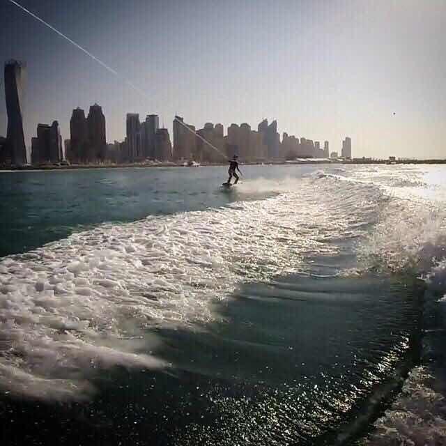 Вейкборд в ОАЭ, Дубаи.