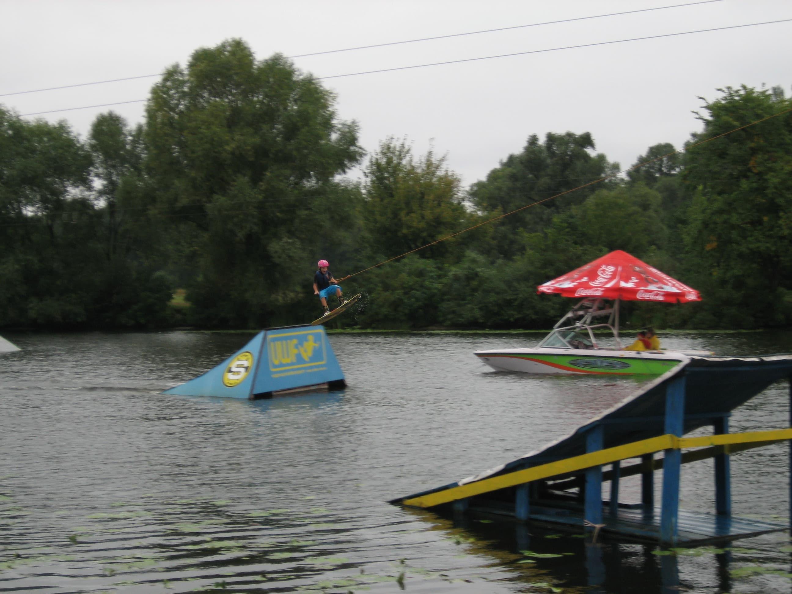 Первые соревнования в Киеве в 2007 году. Чемпионат Украины и Ukranian Open.