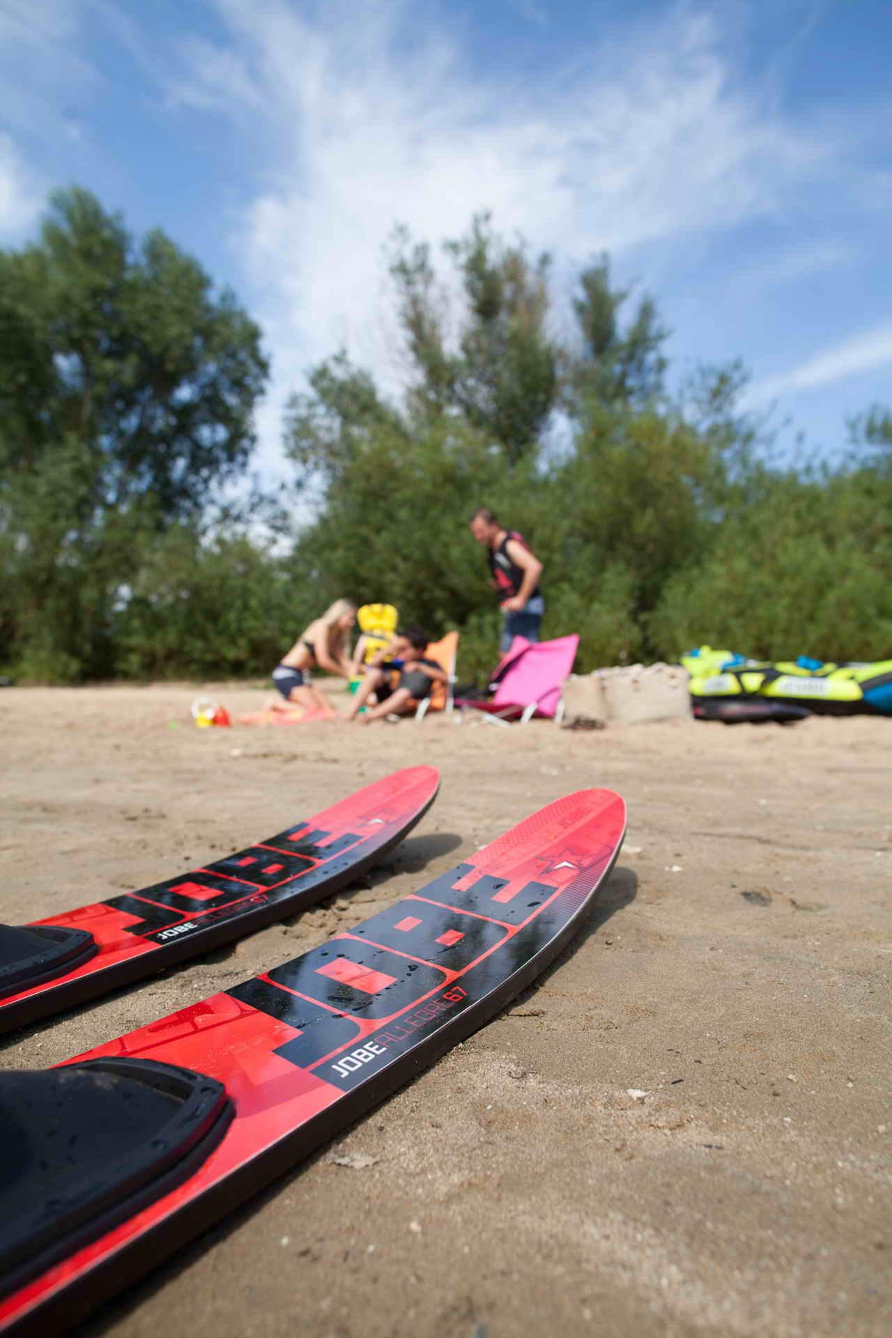 Комплект водных лыж Allegre-Combo-Skis-Black-208815001-1.jpg