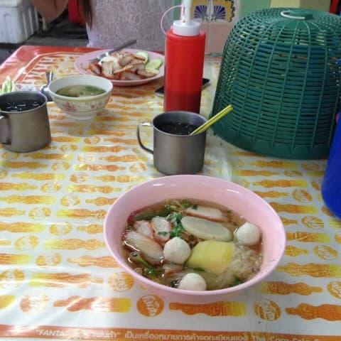 таиландский обед