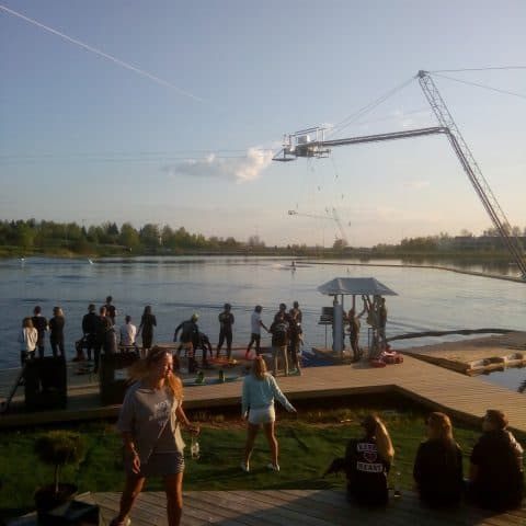 открытие вейк парка в Литве