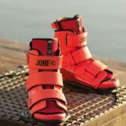Крепления вейкбордные Jobe Host Bindings Velcro Red