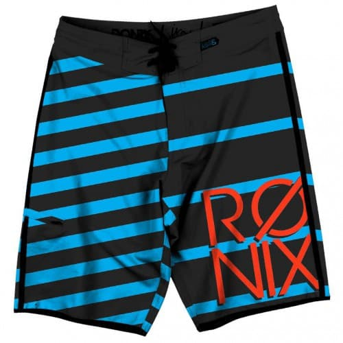 Бордшорты Ronix Mariano's Stripes Tight & Right Black / Blue (thumb5666)