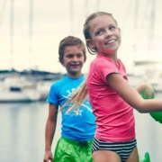Детские бордшорты Swimshort Rebel Lime