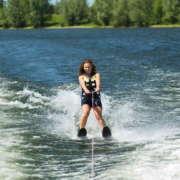 Водные лыжи Allegre Combo Skis Yellow