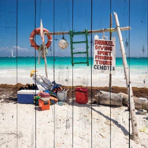 пляж на Маврикии