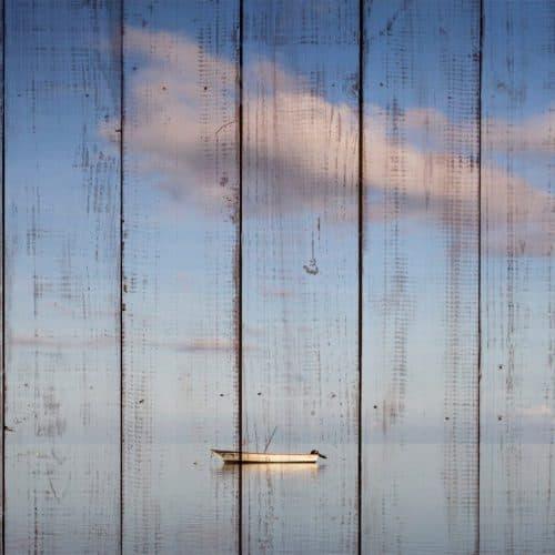 лодка и облако