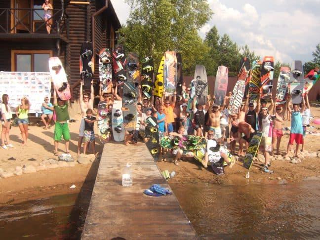 2 этап Кубка Беларуси по вейкбордингу. г.п. Ушачи. 2 августа 2014 года.
