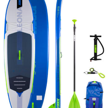 Серф сап JOBE LEONA 10.6 INFLATABLE PADDLE BOARD PACKAGE