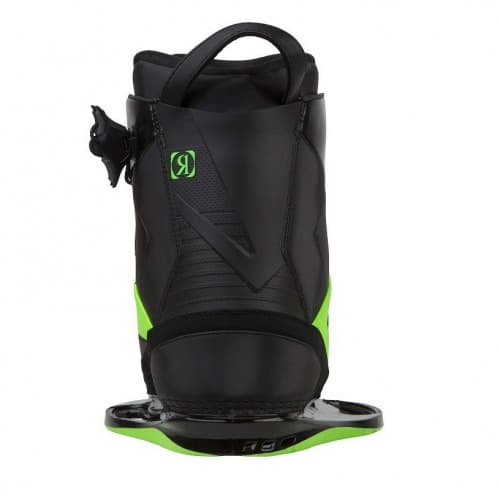 Крепления вейкбордные Ronix One Boot — Phantom / Psycho Green — Intuition (thumb5622)