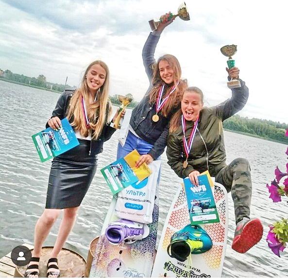 Две медали райдеров Wake Line на Открытом турнире в Калининграде